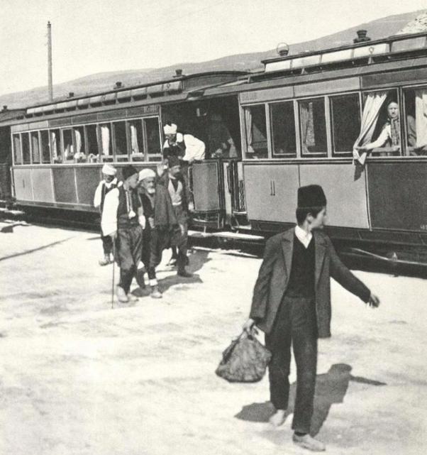 A train in Sarajevo