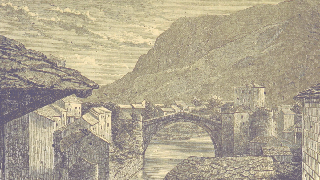 Mostar's Stari Most - Old Bridge print