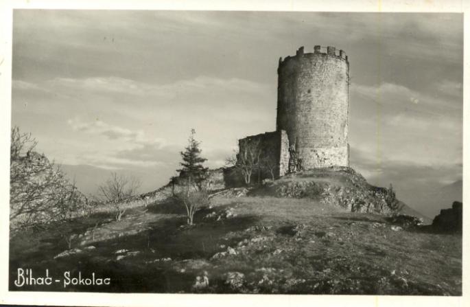 Sokolac Tower near Bihac
